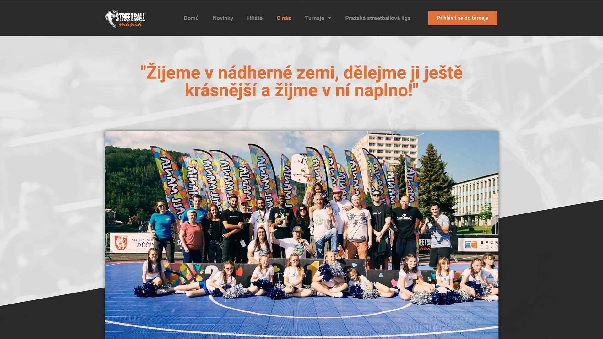 www.streetballmania.cz